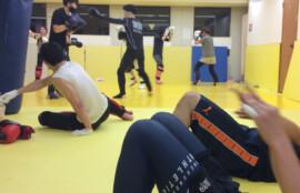 キックボクシング 基礎クラス